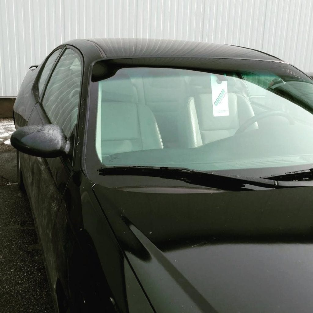 after windshield replacement