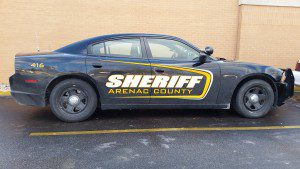 Arenac County Sheriff Vehicle