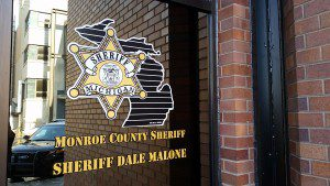 Monroe County Sheriff Department and Jail entrance