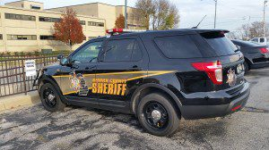 Berrien County Sheriff Vehicle