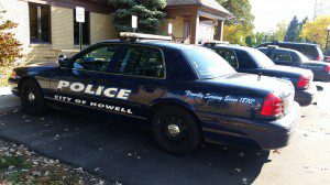 Howell Police Department Vehicle