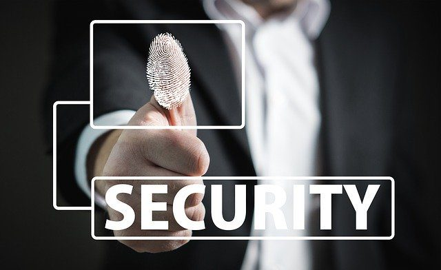 fingerprint with security sign
