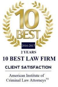 American Institute of Criminal Law Attorneys Best Law Firms