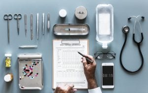 Medical instruments and pills